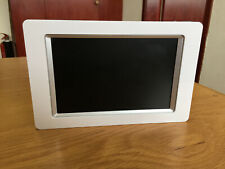 Digital photo frame, white, model no:NSA30B-2 WITH CHARGER