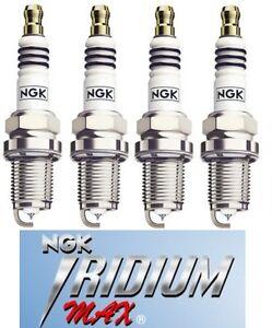 NGK Spark Plug IRIDIUM MAX BKR6EIX-P set of 4 for SUBARU IMPREZA GC8/GF8 TURBO
