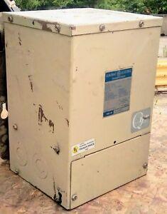 Transformer GE 9T21B1006G2 10KVA 1-Ph 480/240V to 240/120V Indoor/Outdoor QMS