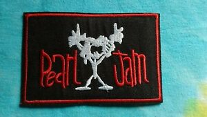 Pearl Jam 2.5 x 4 Inch Iron On Patch