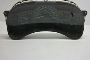2003-05 CHEVROLET AVALANCHE 1500 Speedometer Cluster US ID 15135668