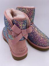 UGG Boots Stiefeletten W Classic Mini Bow Cosmos Rosa Lammfell Gr. 38 NEU
