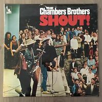 CHAMBERS BROTHERS Shout! 1969 UK LP vinyl record EXCELLENT CONDITION