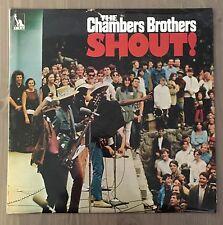 CHAMBERS BROTHERS shout! 1969 UK LP Vinyl Record excellent état