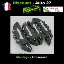 CACHE ETRIER FREIN TYPE BREMBO 3D UNIVERSEL CARBONE TUNING ALFA ROMEO 147,156