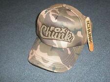 Fox Chunk Camo Solid Back Baseball Cap Hat Fishing tackle