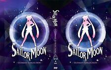 """ENGLISH DUB""~ Sailor Moon (TV Season 1 - 5  + 3 Movie (R S Super S)) ~ 9-DVD ~"
