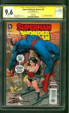 Superman Wonder Woman 26 CGC SS 9.6 Neal Adams Worlds Finest 180 Homage Variant