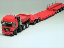 "WSI - NZG - Conrad 61114 MAN + Nooteboom 4+2 Trailer ""RED EDITION"" 1:50 ""NEW"""