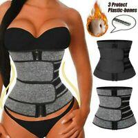Fajas Entrenador Hombres Mujeres de cintura con control de barriga Shaper Sauna