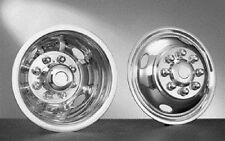 """STAINLESS WHEEL SIMULATORS 1984-2006 FORD F350 16"""" DUALLY"""