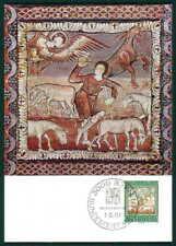 Svizzera MK 1967 fauna pecore capra maximum carta carte MAXIMUM CARD MC cm h2192