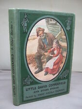 Little David Copperfield & Other Stories Re-Told by Mary Angela Dickens  Illust