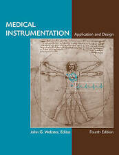 Medical Instrumentation Application and Design By Gary Webster 9780471676003 AC