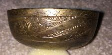 Ex-Sotheby's Auction 1917 SS Medina Shipwreck Brass Bowl Lord Carmichael