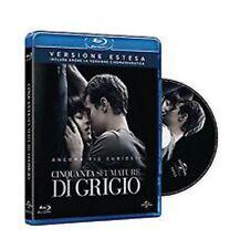 Blu Ray CINQUANTA SFUMATURE DI GRIGIO - (2015) *** Versione Estesa *** .NUOVO