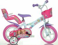 BICYCLE CHILD 12 BARBIE PRODUCT ITALIAN DINO BIKES CHILDREN HIGH 87-120 CM
