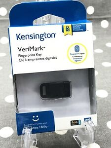 Kensington VeriMark USB Fingerprint Key Designed For Windows Hello  New Sealed!