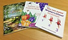 How to paint with watercolour instruction books