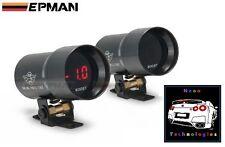 Digital BOOST 37mm Gauge *RED LED* Turbo Skyline WRX EVO MPS 3 6 STI Silvia GTI