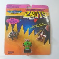 Galoob Micro Machines ZBots Brand new 1992 skiddle, venge,