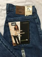 30a03f5770362 Vtg Lee Jeans Womens 10 29x31 Relaxed Fit Tapered Leg Pepper Stone Wash USA  NWT