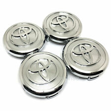 JDM Toyota 2001-2005 Lexus IS300 Altezza T Wheel Center Caps Chrome Genuine