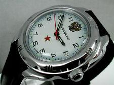 RUSSIAN  VOSTOK MILITARY KOMANDIRSKIE WATCH  # 211323  NEW
