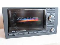 2020 maps Audi A6 S6 RS6 Allroad RNS-E DVD CHROME PIANO GLOSSY navigation satnav