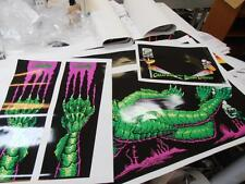 Creature From The Black Lagoon Pinball Cabinet Full Decal Set : Only Mr Pinball