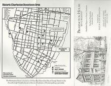 1924 RADIO STATION MAP Clemson College Charleston SC Martinsburg Clarksburg WV