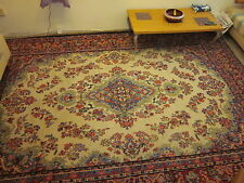 1930's  HUGE ANTIQE PERSIAN RUG / CARPRT KERMAN 260 X 370 cm.