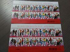 Nederland NVPH 2445 2x Vel Kinderzegels 2006 Frankeerwaarden Postfris !!!