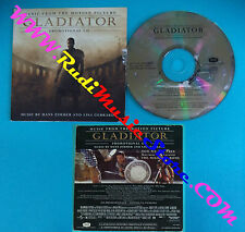CD Singolo Hans Zimmer And Lisa Gerrard Gladiator 467 698 2 PROMO CARDSLEEV(S28)