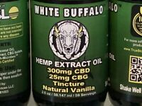 Organic CBD CBG Hemp Oil Formulated CBC, CBCa, CBD-V, CBN, Terpenes 30% off