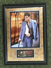 Al Pacino Signed Autographed  Scarface 16x20 Awesome Custom Framing PSA DNA COA
