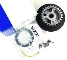 Genuine Sparco steering wheel hub boss kit. Ford Escort MK5, Fiesta MK3. 11C