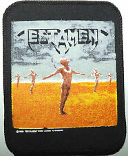 TESTAMENT Practice What You Preach Vintage 1989 Printed Sew On Patch