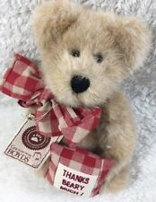 """Boyds Bears Merci Bearcoo 8"""" Retired Tags Attached 903001"""
