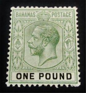 nystamps British Bahamas Stamp # 56 Mint OG H $255 J15y2040