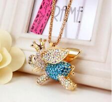 Chain Flying wing Necklace hot Betsey Johnson Rhinestone Jewelry Pendant Sweate