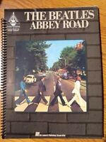 Spiral Bound - Beatles Abbey Road Songbook Guitar Tablature, Sheet Music, Chords