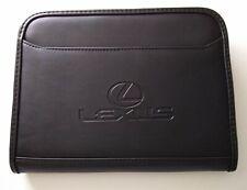 Gemline Lexus Leather Portfolio Planner Notebook 9 X 65 Black Pen