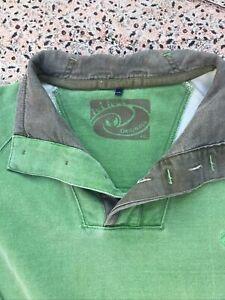FAT FACE - Grn Menthol - Cotton - Long Sleeve - Button Neck - SweatShirt - XXL