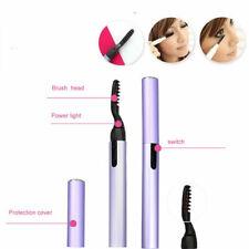 Portable Electric Eyelash Curler Pen Heated Long Lasting Eye lashes Makeup Tools