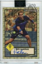 Pete Sampras 2020 Topps Transcendent Tennis 1952 Superfractor Autograph 1/1