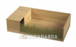 VIVEXOTIC VIVA TORTOISE OAK TABLE / STAND REPTILE HOUSING HOME EASY CLEANING