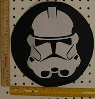Star Wars Imperial Storm Trooper Licensed Iron on  GIANT Back Patch Embroidered