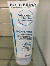 Bioderma Atoderm Intensive Ultra-Rich Foaming Gel Cleanser 200mL / 6.8oz - NEW!