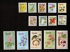 Uganda 1969 Flowers Cmplt. Sc# 115-29